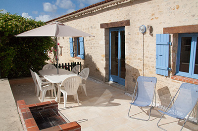 Les Tamaris Cottage N°1 terrace