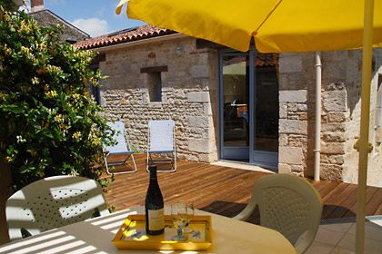 Les Tamaris Cottage N°2 courtyard terrace