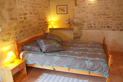 Les Tamaris Cottage N°1 double bedroom